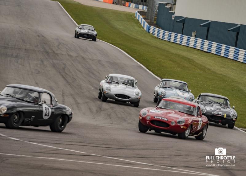 Jaguar Classic Challenge, Donington Historic Festival