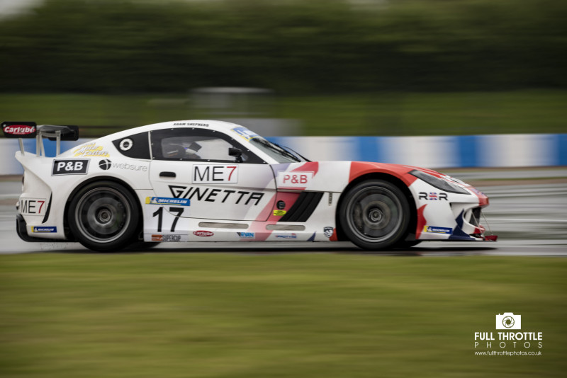 Ginetta Gt4 Super Cup Donington 2018