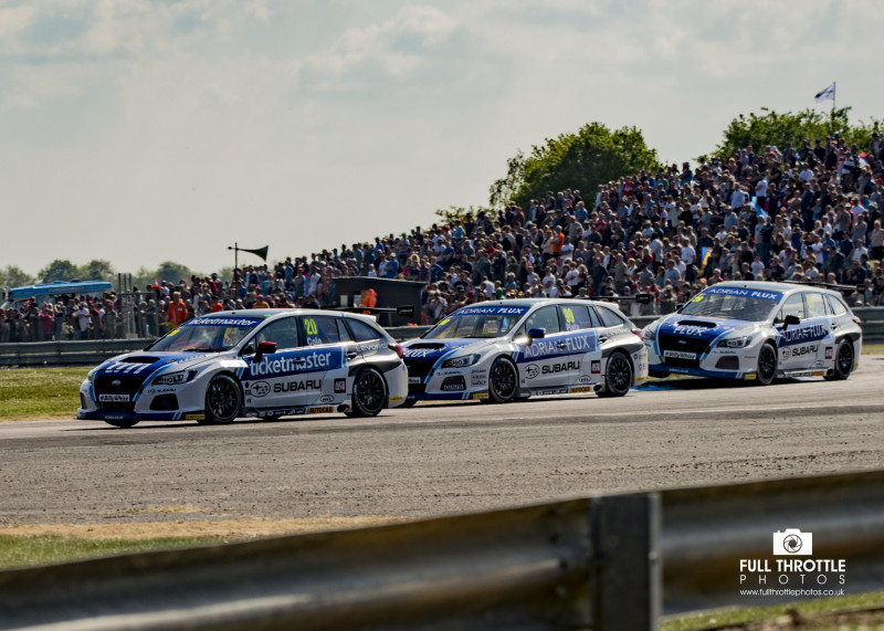 Btcc Thruxton 2017 Rounds 7,8,9.
