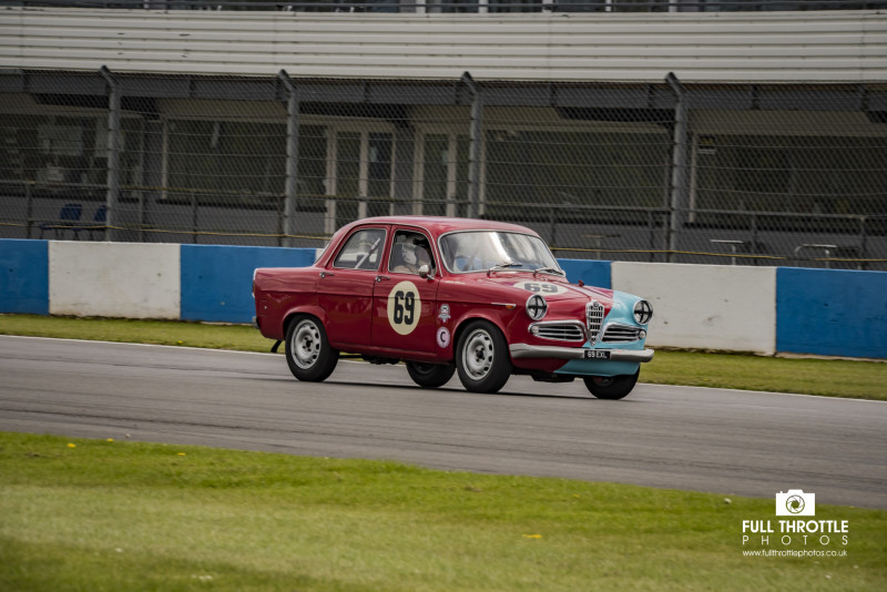 Hrdc Touring Car Greats Donington Historic Festival